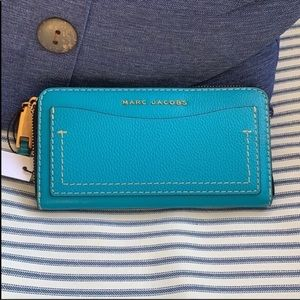 NWT Marc Jacobs NILE BLUE wallet/clutch